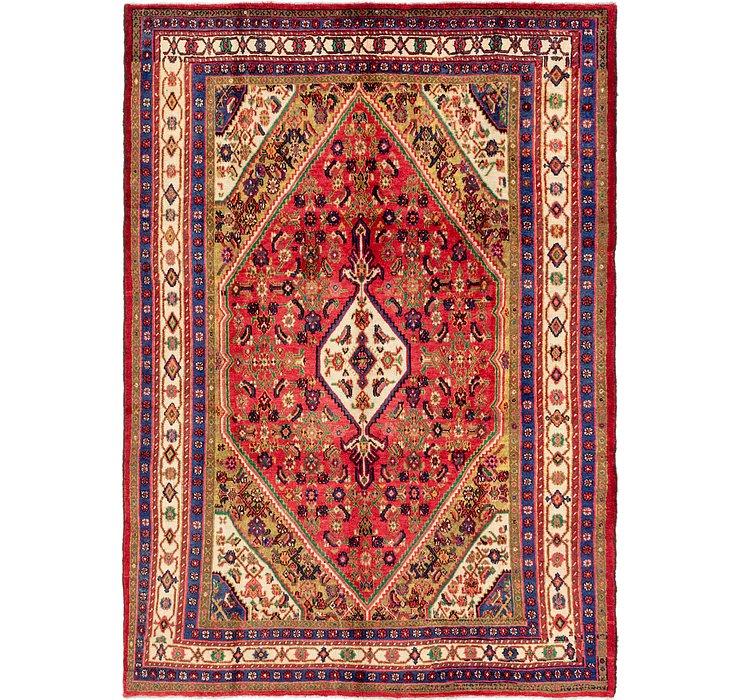218cm x 315cm Hamedan Persian Rug
