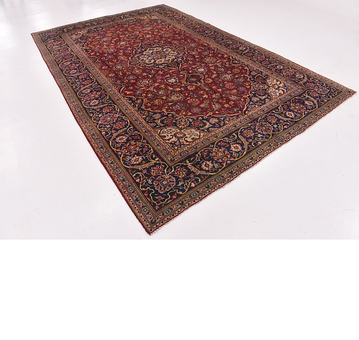 7' 5 x 11' 4 Kashan Persian Rug