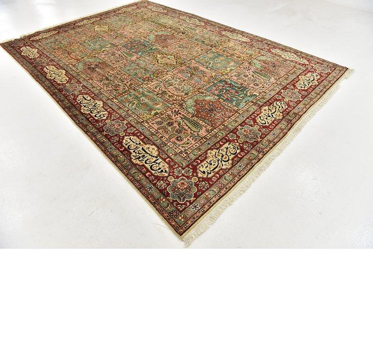 8' x 11' 7 Tabriz Persian Rug