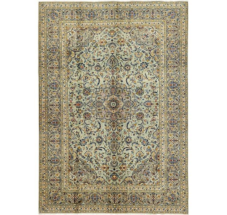 7' 4 x 10' 5 Kashan Persian Rug