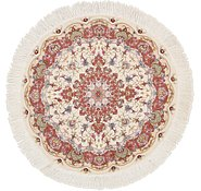 Link to 3' 2 x 3' 2 Tabriz Persian Round Rug