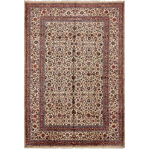 Unique Loom 11' 9 x 17' 1 Mashad Persian Rug