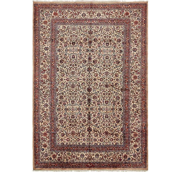 358cm x 520cm Mashad Persian Rug