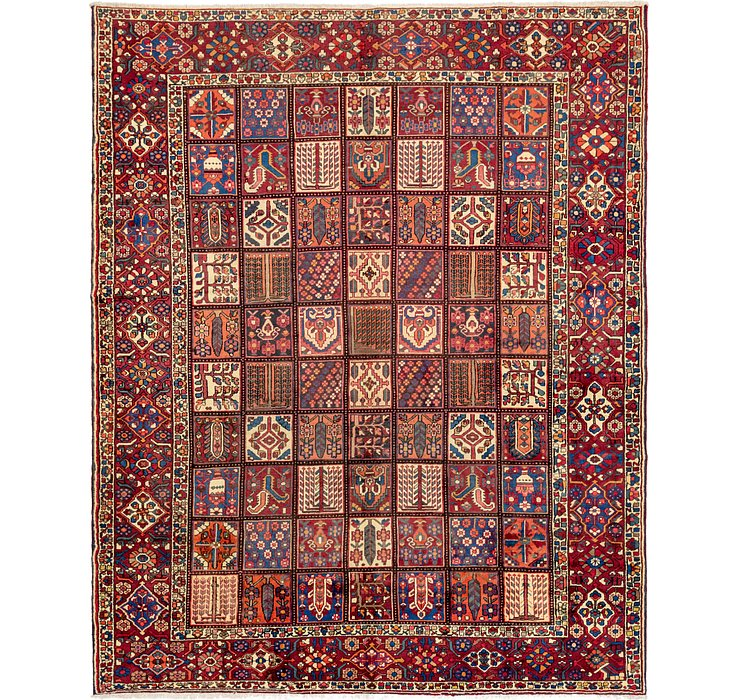 9' 10 x 12' 5 Bakhtiar Persian Rug