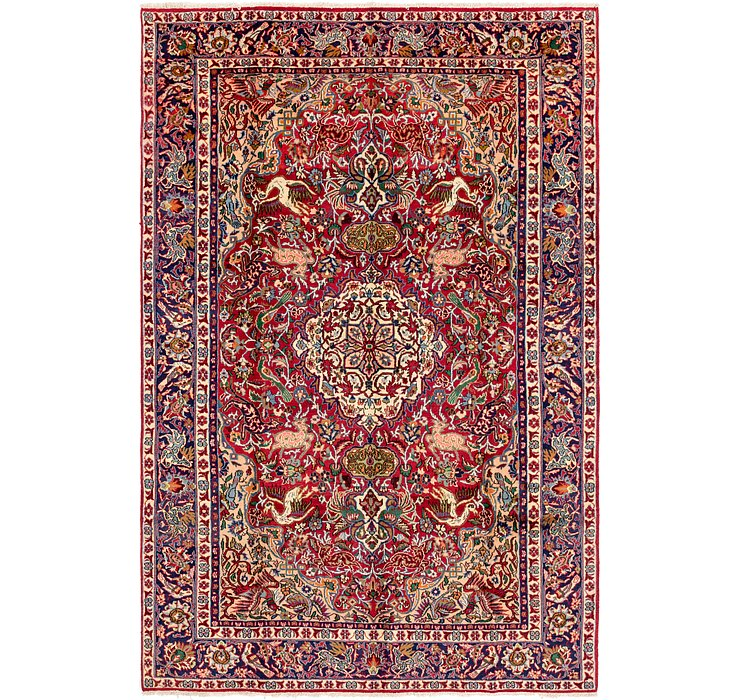 7' 10 x 11' 7 Kashmar Persian Rug