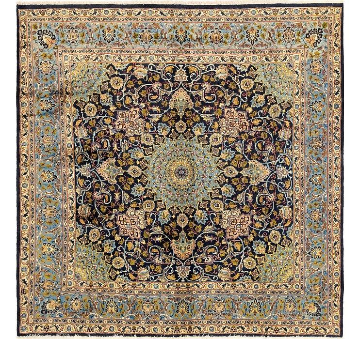 9' 9 x 9' 10 Kashmar Persian Square ...