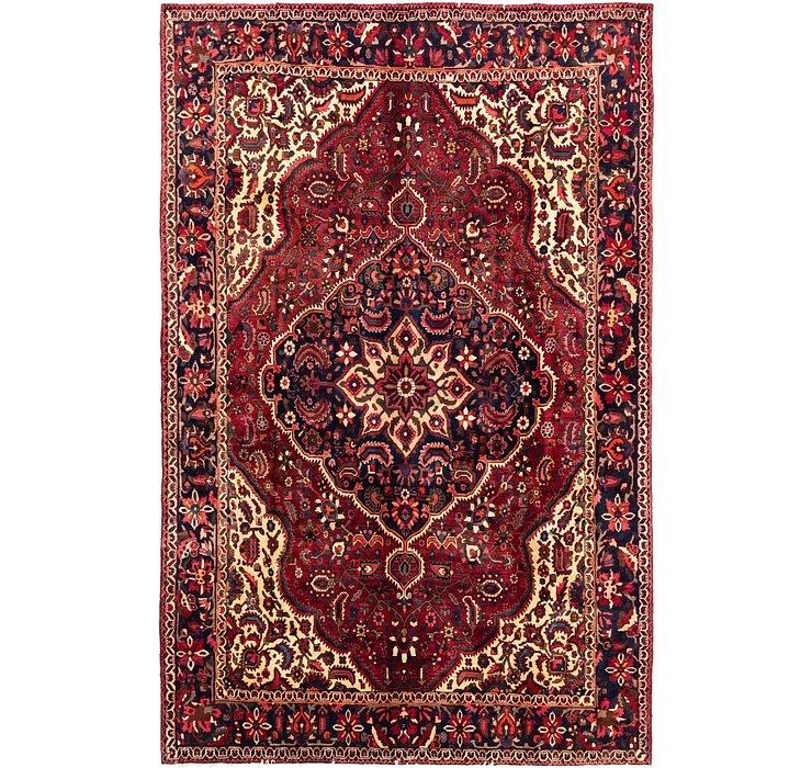 7' x 11' Bakhtiari Persian Rug