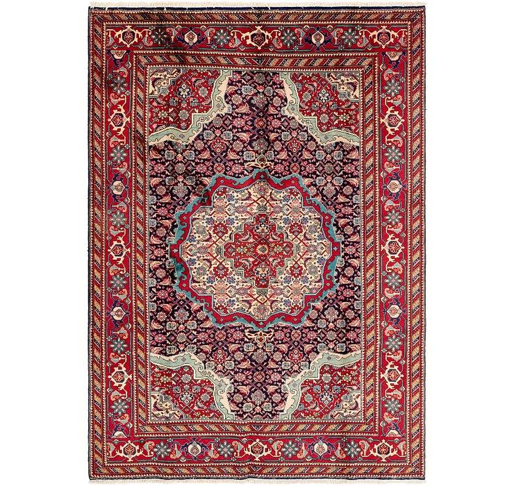 205cm x 292cm Tabriz Persian Rug