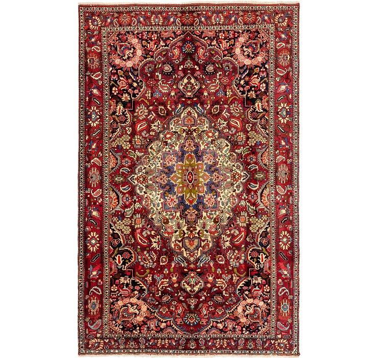 7' x 11' 2 Bakhtiari Persian Rug