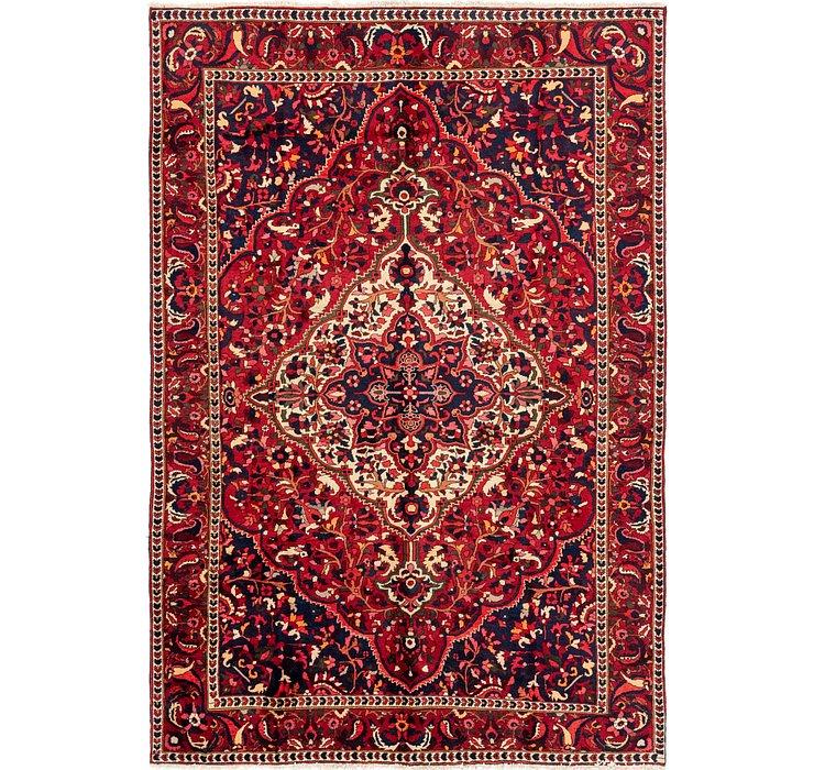 7' x 10' 3 Bakhtiari Persian Rug