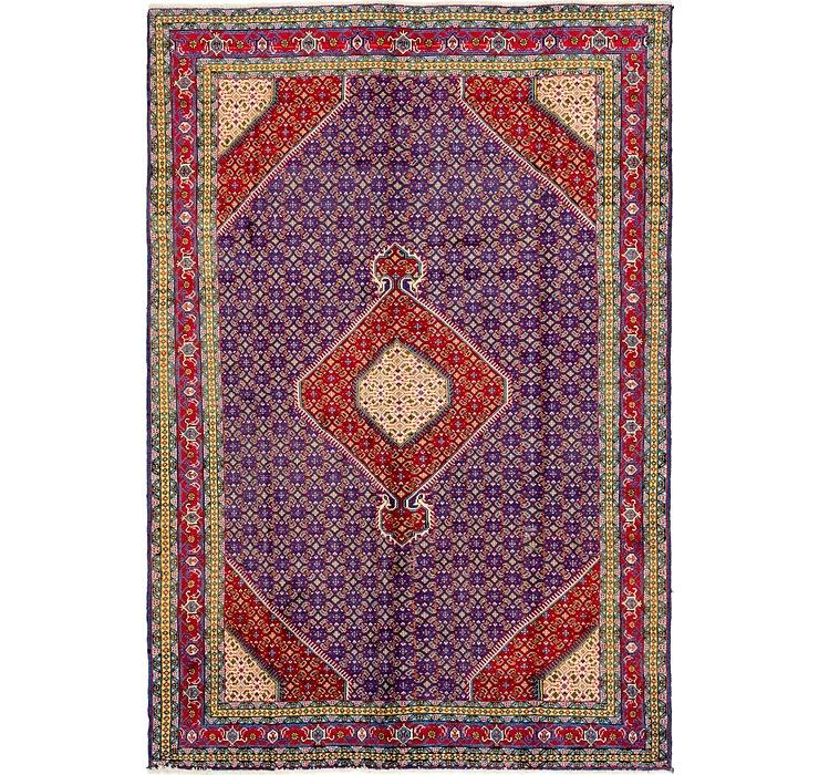 198cm x 292cm Tabriz Persian Rug