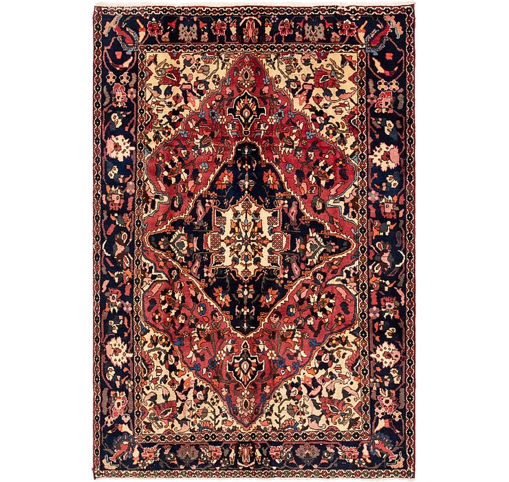 6' 10 x 10' 2 Bakhtiari Persian Rug