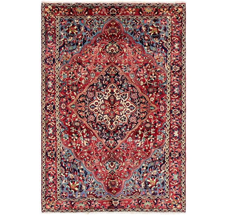 7' x 10' 5 Bakhtiari Persian Rug
