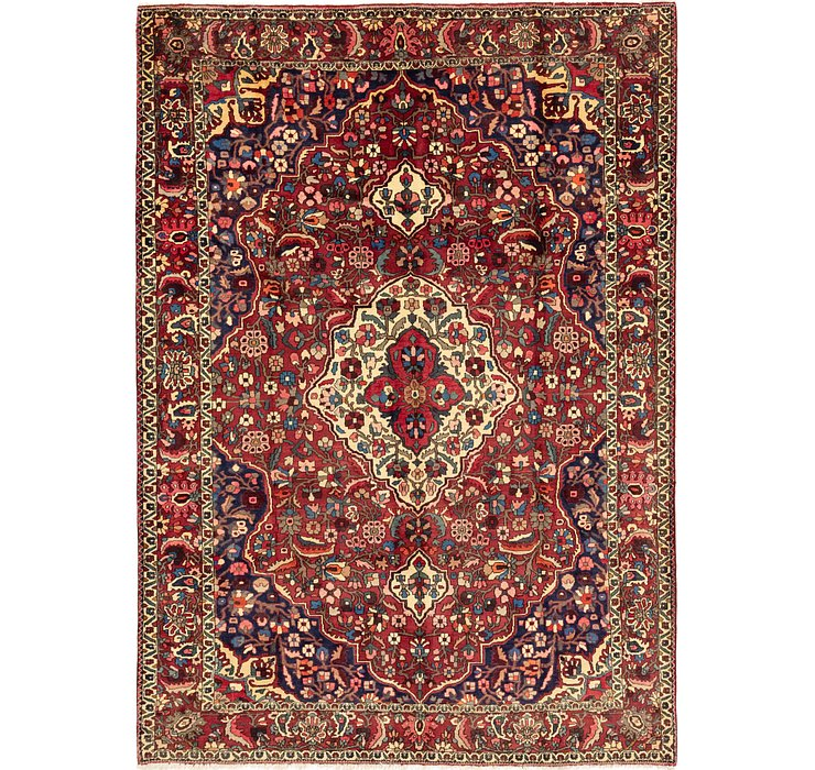 7' x 10' 4 Bakhtiari Persian Rug
