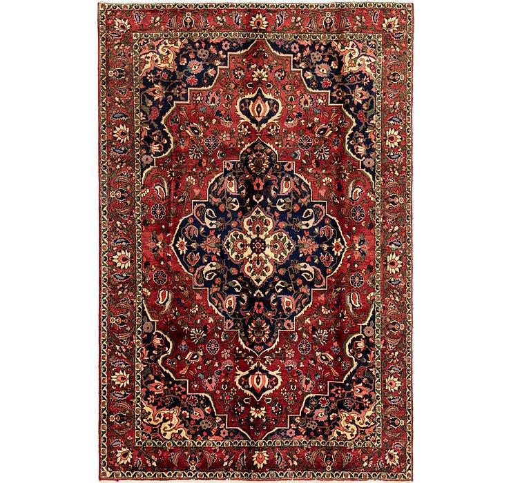 6' 10 x 10' 5 Bakhtiari Persian Rug