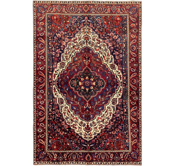 7' 5 x 11' 4 Bakhtiari Persian Rug