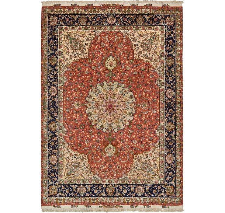 9' 6 x 13' 7 Tabriz Persian Rug