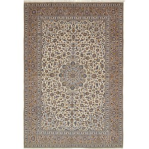 HandKnotted 11' 3 x 16' 4 Kashan Persian Rug