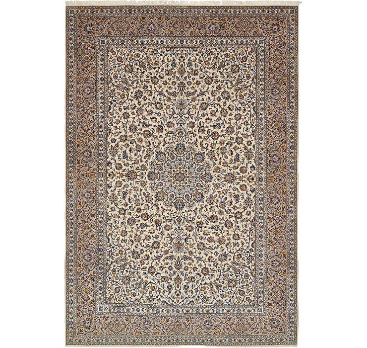 343cm x 498cm Kashan Persian Rug