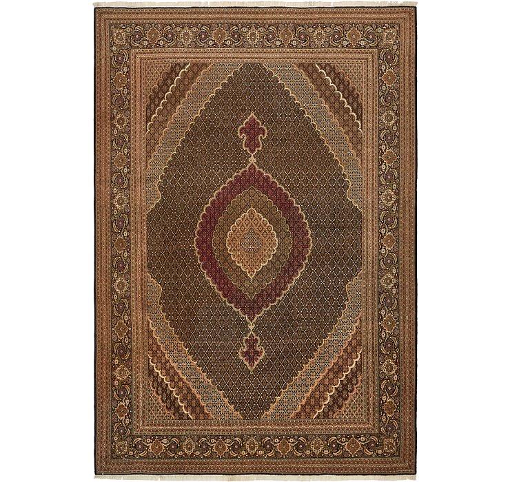 11' 2 x 16' 4 Tabriz Persian Rug