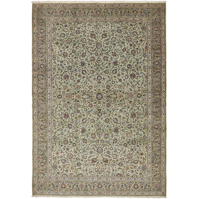 12' 11 x 18' 9 Kashan Persian Rug