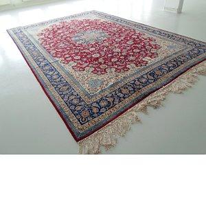 11' 6 x 16' 9 Isfahan Persian Rug
