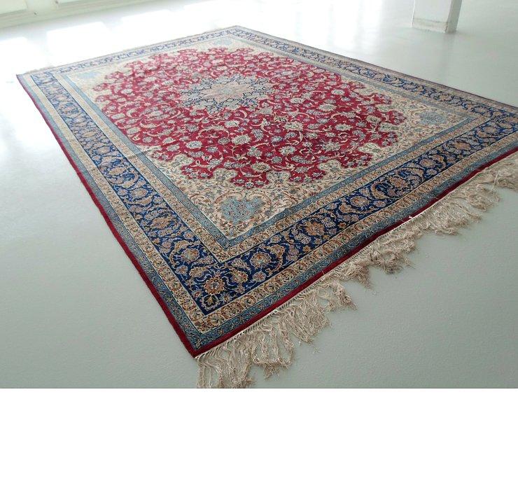 350cm x 510cm Isfahan Persian Rug