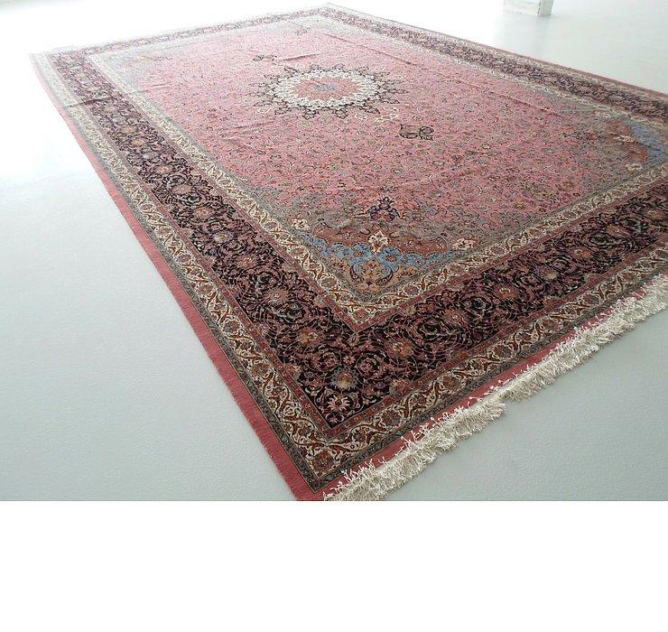13' 4 x 20' 8 Tabriz Persian Rug