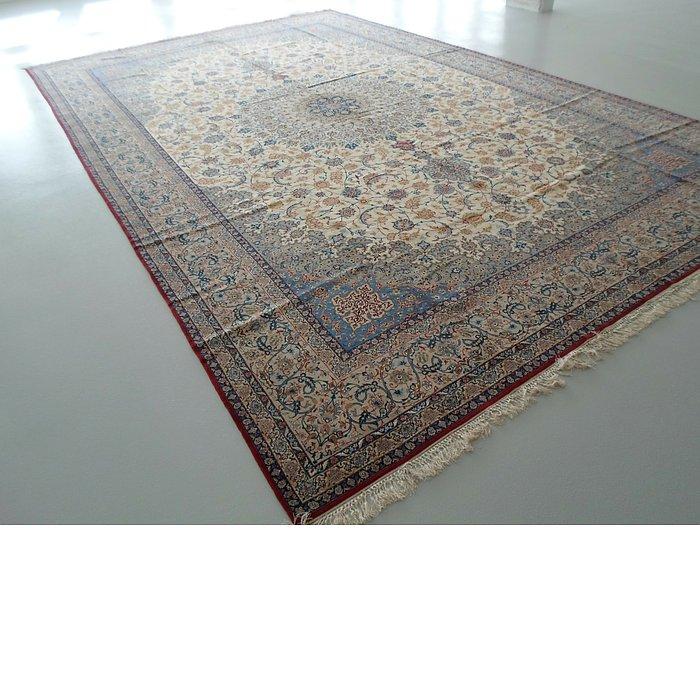 12' 10 x 20' Isfahan Persian Rug
