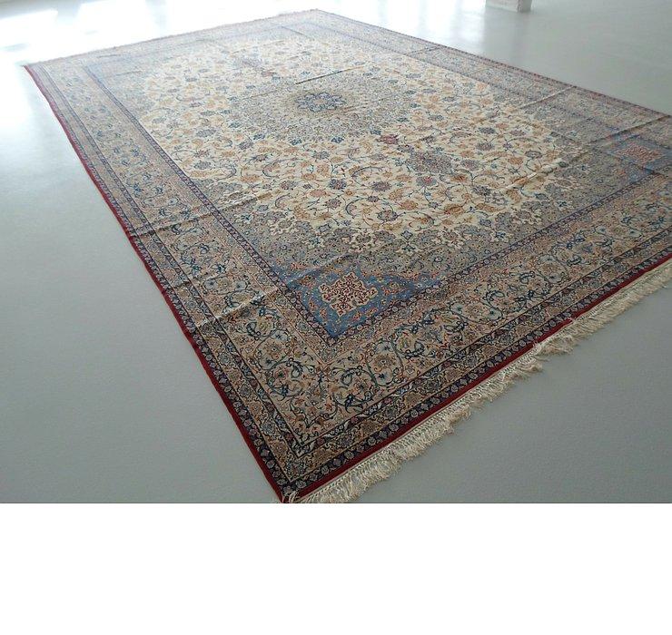 390cm x 610cm Isfahan Persian Rug