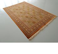 Link to 6' 11 x 9' 10 Qom Persian Rug