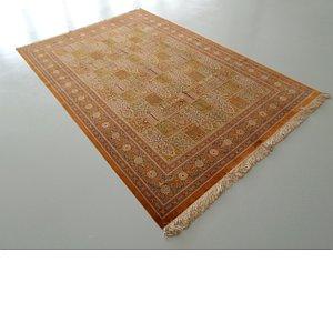 6' 11 x 9' 10 Qom Persian Rug