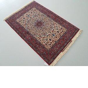 3' 5 x 5' 3 Isfahan Persian Rug