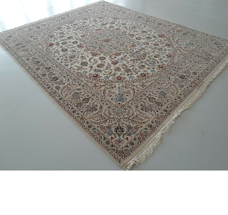 307cm x 365cm Isfahan Persian Rug