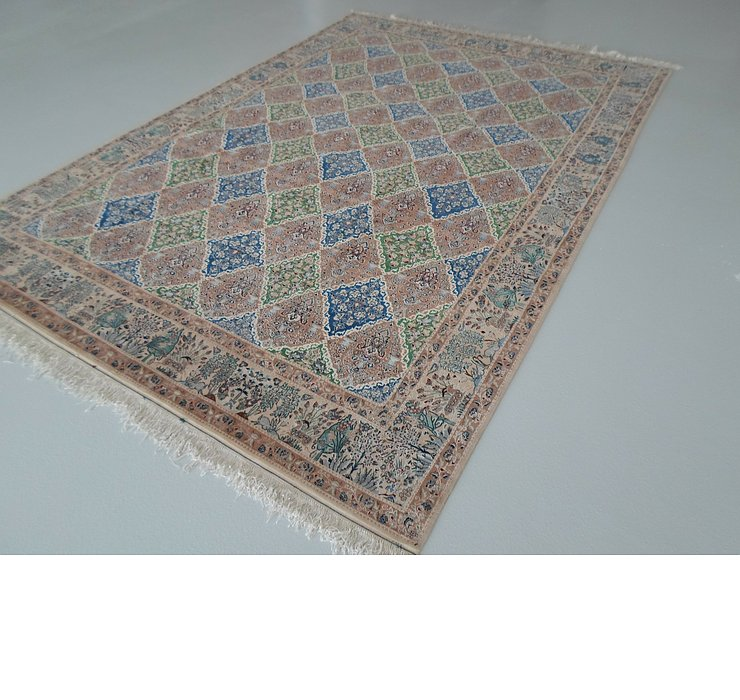 7' 9 x 11' 5 Isfahan Persian Rug