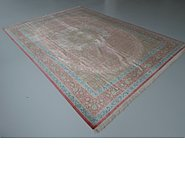 Link to 8' 2 x 11' 2 Qom Persian Rug
