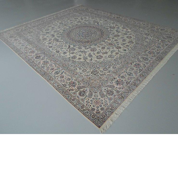 9' 10 x 11' 6 Nain Persian Rug