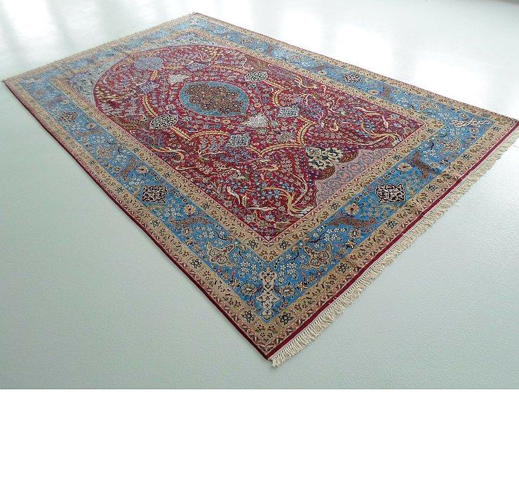 7' 3 x 11' 6 Isfahan Persian Rug