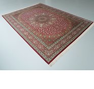 Link to 8' 2 x 11' 3 Qom Persian Rug