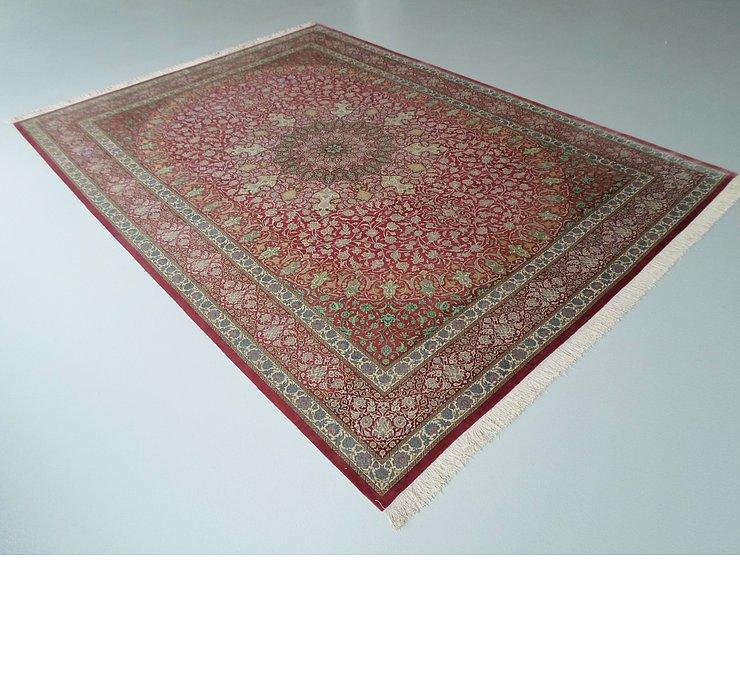 8' 2 x 11' 3 Qom Persian Rug