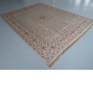 HandKnotted 9' 8 x 12' 10 Qom Persian Rug