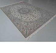 Link to 8' 3 x 12' Nain Persian Rug