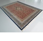 Link to 8' 1 x 11' 3 Qom Persian Rug