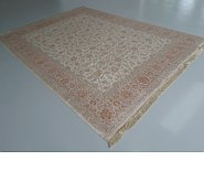 Link to 9' 7 x 12' 10 Qom Persian Rug