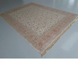 HandKnotted 9' 7 x 12' 10 Qom Persian Rug