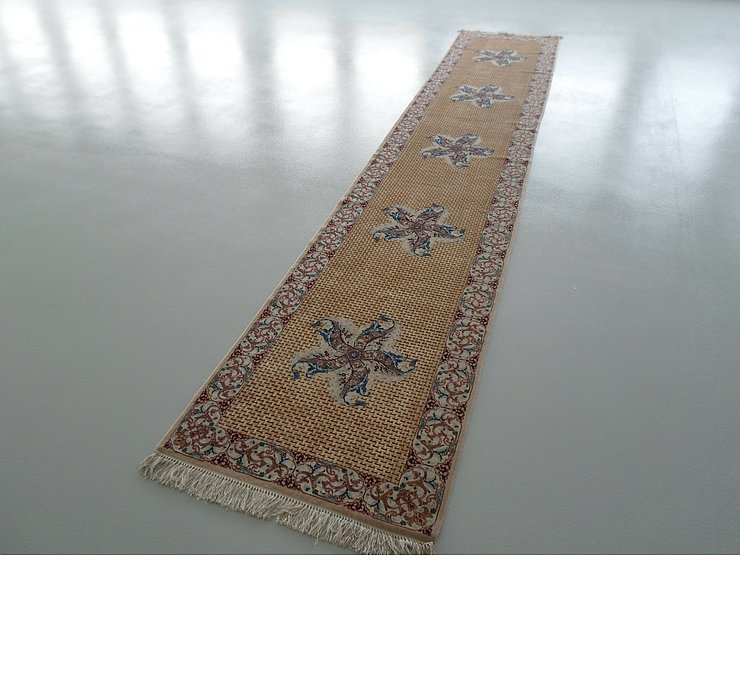 3' x 16' 1 Isfahan Persian Runner ...