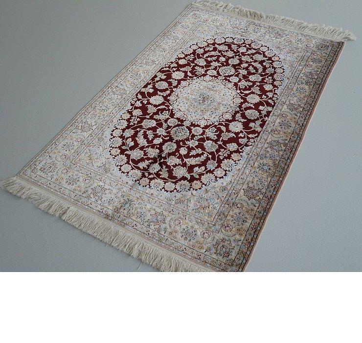 3' 7 x 5' 6 Nain Persian Rug