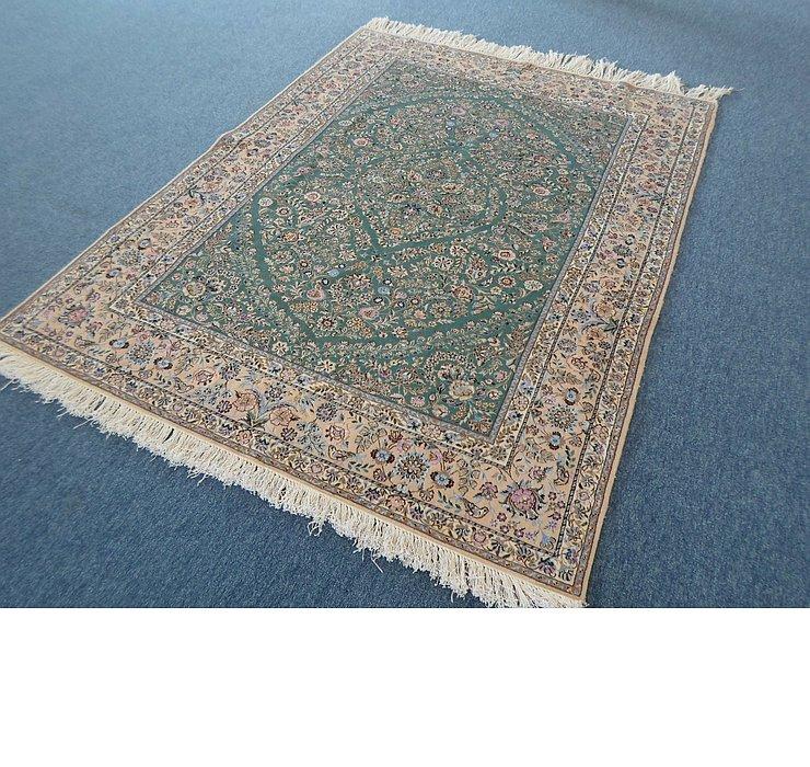 4' 9 x 6' 4 Nain Persian Rug