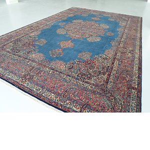 11' 4 x 17' 9 Kerman Persian Rug