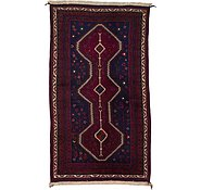 Link to 4' 4 x 7' 9 Hamedan Persian Rug